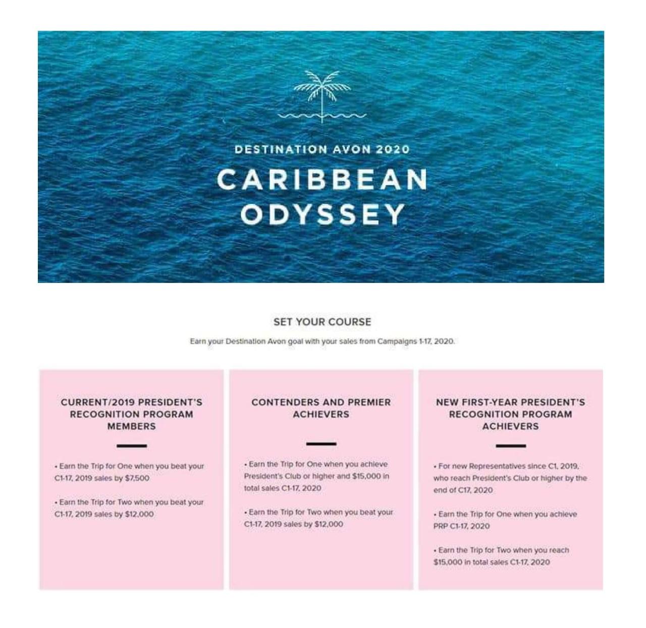 2020 Caribbean Odyssey Incentive-1